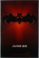 """Batman & Robin"" 27x40 Teaser Movie Poster at PristineAuction.com"