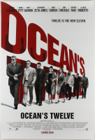 """Ocean's Twelve"" 27x40 Teaser Movie Poster at PristineAuction.com"