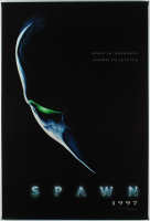 """Spawn"" 27x40 Rare Glossy Teaser Movie Poster at PristineAuction.com"