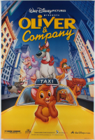 """Oliver & Company"" 27x40 Teaser Movie Poster at PristineAuction.com"