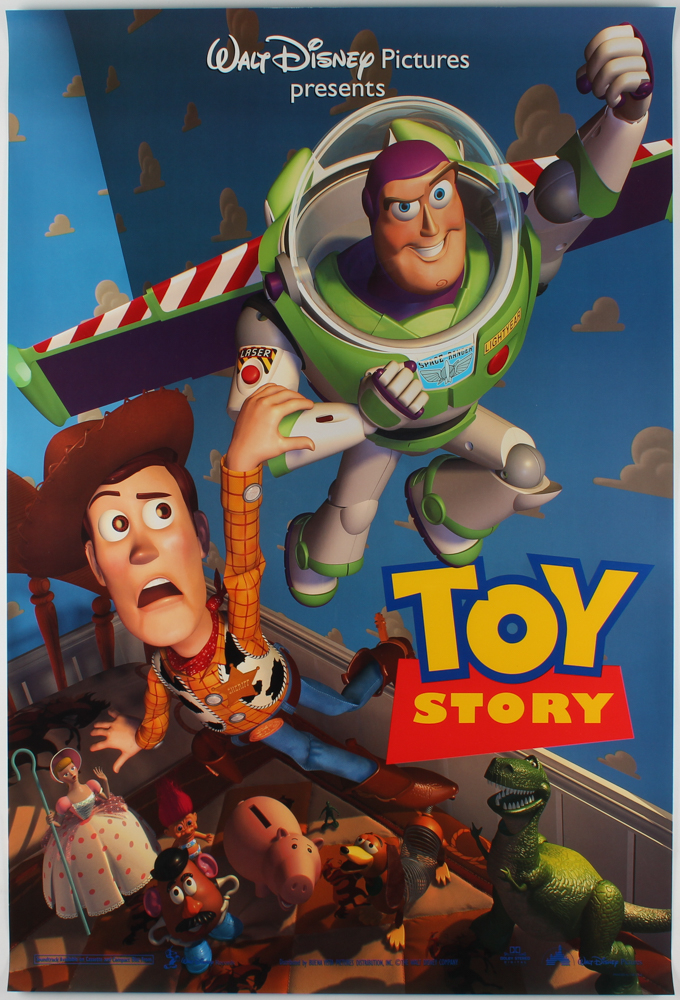 """""""Toy Story"""" 27x40 Teaser Movie Poster at PristineAuction.com"""