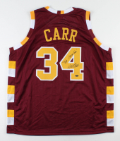 """Austin Carr Signed Jersey Inscribed """"Mr. Cavalier"""" (Playball Ink Hologram) at PristineAuction.com"""