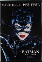 """Batman Returns"" 27x40 Rare Teaser Poster at PristineAuction.com"