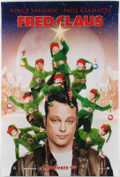 """""""Fred Claus"""" 27x40 Teaser Movie Poster at PristineAuction.com"""