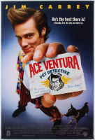 """Ace Ventura: Pet Detective"" 27x40 Movie Poster at PristineAuction.com"