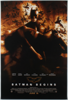 """Batman Begins"" 27x40 Romance Movie Poster at PristineAuction.com"