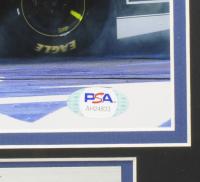 Jimmie Johnson Signed NASCAR 1114 Custom Framed Photo (PSA COA) at PristineAuction.com