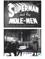 """Jerry Maren Signed """"Superman And The Mole-Men"""" 8.5x11 Photo Inscribed """"Moleman"""" (JSA COA) at PristineAuction.com"""