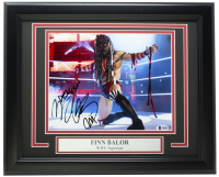 Finn Balor Signed WWE 11x14 Custom Framed Photo Display (Beckett COA) at PristineAuction.com