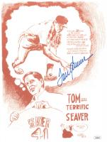 Tom Seaver Signed Mets 8x10 Photo (JSA COA) at PristineAuction.com