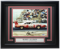 Bobby Allison Signed 11x14 Custom Framed Photo (Beckett COA) at PristineAuction.com