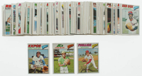 Lot of (200) 1977 Topps Baseball Cards With Jim Kaat #638, Vida Blue #230 & Gary Carter #295 at PristineAuction.com