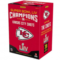 Kansas City Chiefs 2019 Panini Instant Super Bowl LIV Champions Complete Trading Card Set Box of (36) Cards at PristineAuction.com