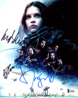"""Mads Mikkelsen, Donnie Yen & Gareth Edwards Signed """"Star Wars: Rogue One"""" 8x10 Photo (Beckett LOA) at PristineAuction.com"""