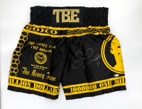 Floyd Mayweather Jr. Signed TBE Boxing Trunks (Beckett COA) at PristineAuction.com