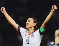 Alex Morgan Signed Team USA 11x14 Photo (PSA Hologram) at PristineAuction.com