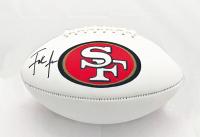 Frank Gore Signed 49ers Logo Football (JSA COA) at PristineAuction.com