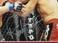 Randy Couture Signed 11x14 Custom Framed Photo Display (Beckett COA) at PristineAuction.com