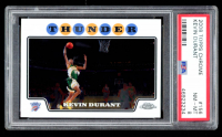 Kevin Durant 2008-09 Topps Chrome #156 (PSA 8) at PristineAuction.com