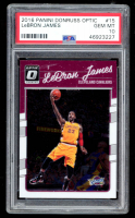 LeBron James 2016 Panini Donruss Optic #15 (PSA 10) at PristineAuction.com