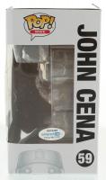 "John Cena Signed ""WWE"" #59 Funko Pop! Vinyl Figure (AutographCOA Hologram) at PristineAuction.com"