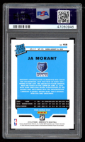 Ja Morant 2019-20 Donruss Optic #168 RR RC (PSA 10) at PristineAuction.com