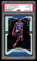 Matisse Thybulle 2019-20 Panini Prizm Prizms Silver #290 (PSA 10) at PristineAuction.com