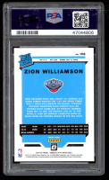 Zion Williamson 2019-20 Donruss Optic #158 RR RC (PSA 10) at PristineAuction.com