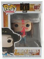 "Cailey Fleming Signed ""The Walking Dead"" #887 Judith Grimes Funko Pop! Vinyl Figure (PSA Hologram) at PristineAuction.com"