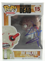 "Andrew Lincoln Signed ""The Walking Dead"" #15 RV Walker Funko Pop! Vinyl Figure (Beckett Hologram) at PristineAuction.com"