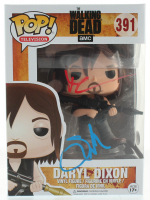 "Norman Reedus & Greg Nicotero Signed ""The Walking Dead"" #391 Daryl Dixon Funko Pop! Vinyl Figure (PSA Hologram) at PristineAuction.com"