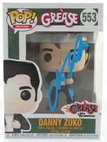 "John Travolta Signed ""Grease"" #553 Danny Zuko Funko Pop! Vinyl Figure (PSA Hologram) at PristineAuction.com"