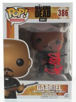 "Seth Gilliam Signed ""The Walking Dead"" #386 Gabriel Funko Pop! Vinyl Figure (PSA Hologram) at PristineAuction.com"