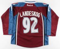 Gabriel Landeskog Signed Avalanche Captain Jersey (PSA COA) at PristineAuction.com