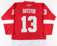 Pavel Datsyuk Signed Red Wings Jersey (PSA COA) at PristineAuction.com