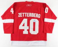 Henrik Zetterberg Signed Red Wings Jersey (PSA COA) at PristineAuction.com