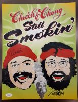 "Cheech Marin & Tommy Chong Signed ""Still Smokin'"" 8x10 Photo (JSA Hologram) at PristineAuction.com"