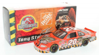 Tony Stewart LE #20 Home Depot / Jurassic Park III 2001 Grand Prix Clear Window Bank 1:24 Scale Die Cast Car at PristineAuction.com