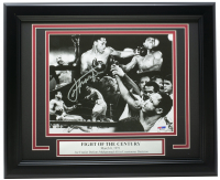 Joe Frazier Signed 11x14 Custom Framed Photo Display (PSA COA) at PristineAuction.com