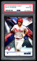 Rhys Hoskins 2018 Bowman's Best #36 RC (PSA 10) at PristineAuction.com