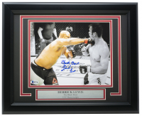 "Derrick Lewis Signed UFC 11x14 Custom Framed Photo Inscribed ""Black Beast"" (Beckett COA) at PristineAuction.com"