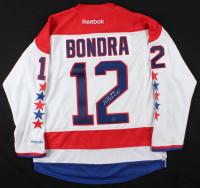 Peter Bondra Signed Capitals Jersey (AJ's Sports World COA) at PristineAuction.com