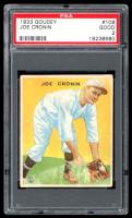 Joe Cronin 1933 Goudey #109 RC (PSA 2) at PristineAuction.com