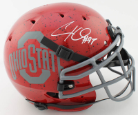 Cameron Heyward Signed Ohio State Buckeyes Authentic On-Field Full-Size Helmet (Beckett COA at PristineAuction.com