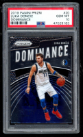 Luka Doncic 2019-20 Panini Prizm Dominance #20 (PSA 10) at PristineAuction.com