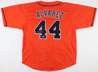Yordan Alvarez Signed Jersey (Beckett COA) at PristineAuction.com