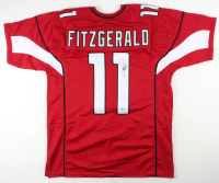 Larry Fitzgerald Signed Jersey (Beckett COA) at PristineAuction.com