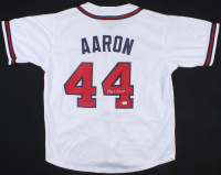 Hank Aaron Signed Jersey (JSA LOA) at PristineAuction.com
