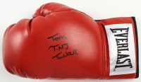 "Tony ""T.N.T"" Tucker Signed Everlast Boxing Glove (Schwartz COA) at PristineAuction.com"