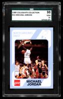 Michael Jordan 1989-90 North Carolina Collegiate Collection #15 (SGC 10) at PristineAuction.com